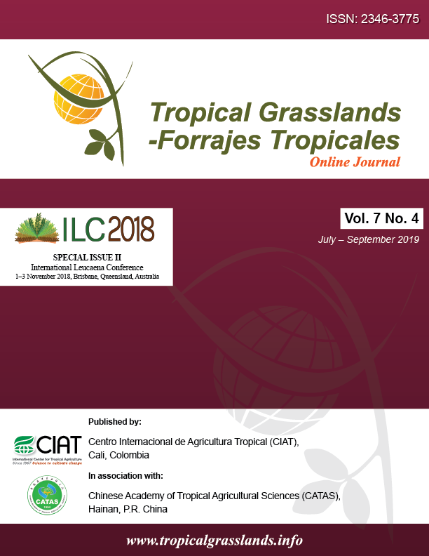 Tropical Grasslands-Forrajes Tropicales